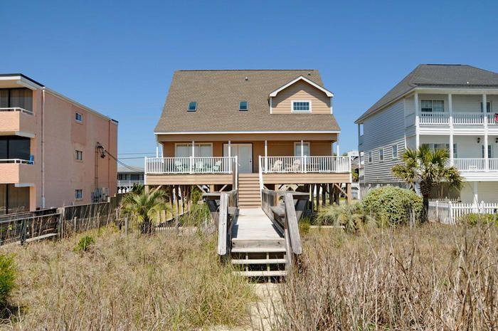 Exceptional House Rentals In Myrtle Beach Oceanfront Part - 13: Sandy Toes (Elliott Beach Rentals) In North Myrtle Beach, SC 6 Bedroom Oceanfront  Vacation Rental