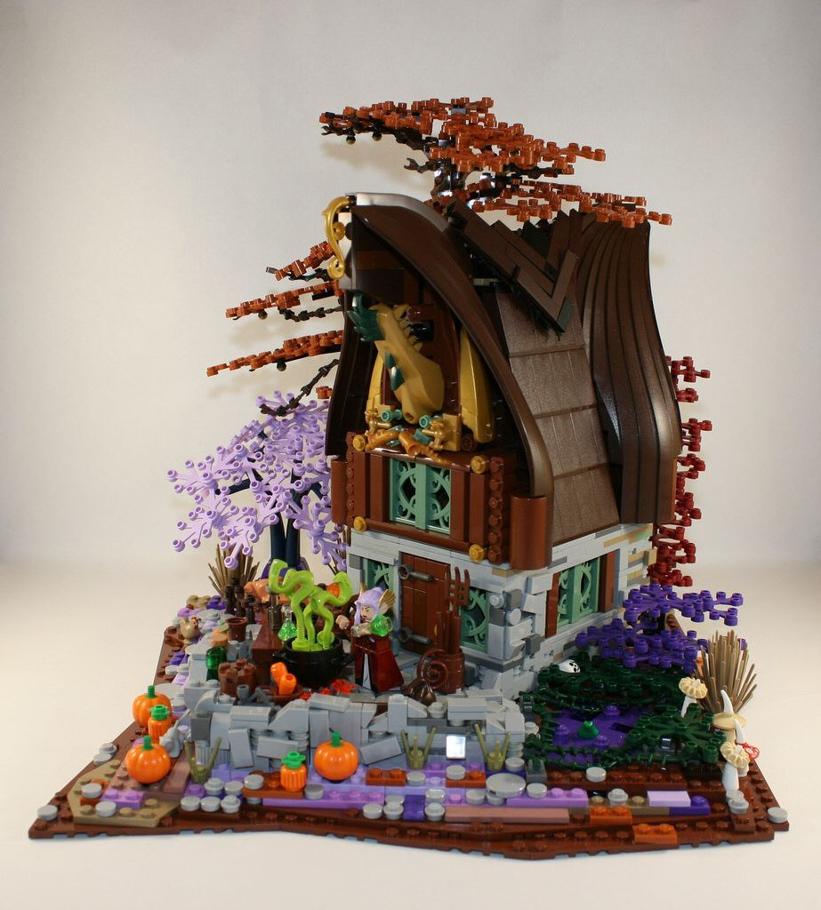 The Elf-Witch Cottage #witchcottage The Elf-Witch Cottage #witchcottage
