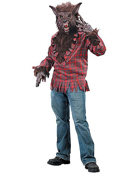 werewolf adult mens costume spirithalloweencom