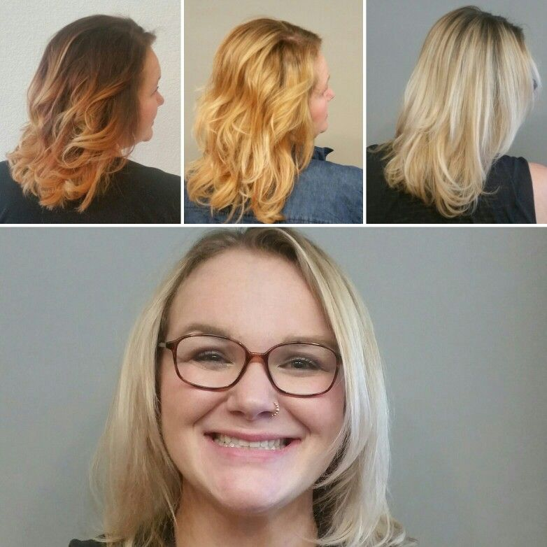 Getting to #blonde from #red takes time! 5 appointments later and this beauty is an icy blonde! #ellebsalon #ellebstylist #hairbydevynmccarty #denverhair #denverhairstylist #coloradohair #hairart #goldwell #hairpainting #balayage #ombre #redken #shadeseq #oribe #oribeobsessed #randcohair #v76 #smithandcult #lbp