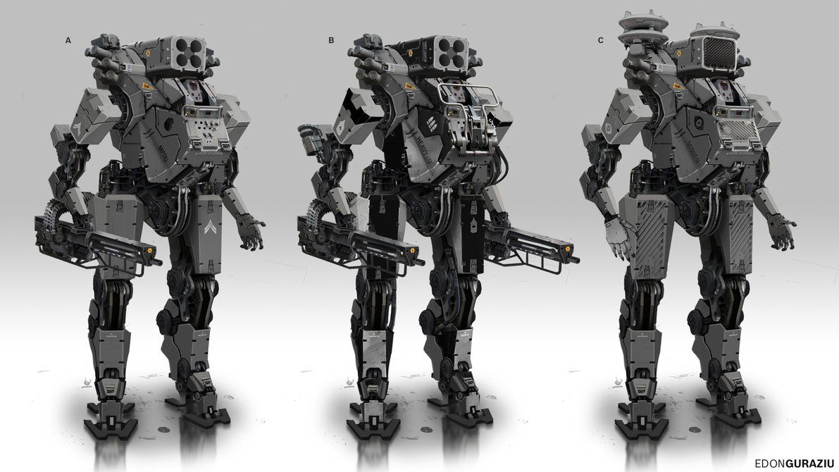 Battle Robot Concept by DrZoidberg96.deviantart.com on @DeviantArt