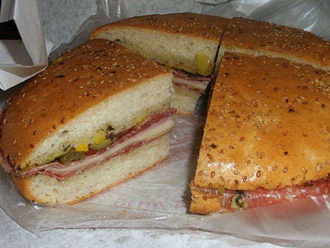 Central Grocery Muffuletta