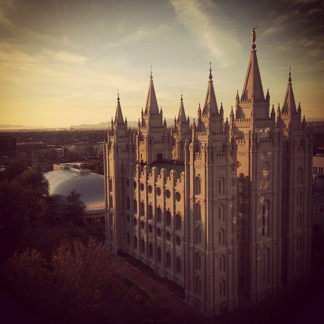 Salt Lake Temple. - Savage Photography
