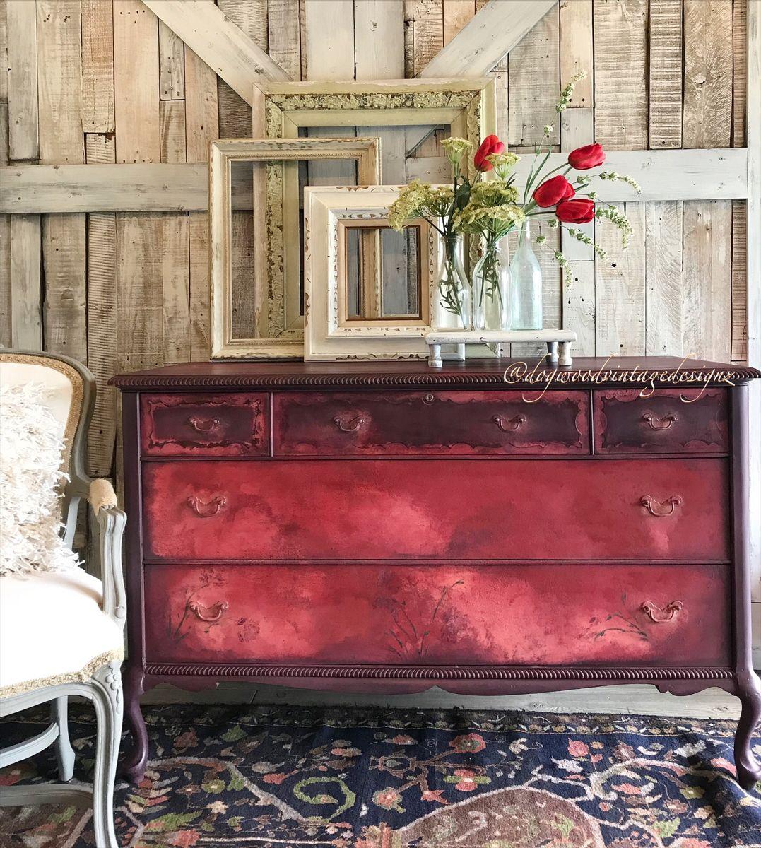 #furnitureartist #interiordesigner #diylove #beautifulhome #layered #vintage furniture #ilovetopaint #modern #romantic #mauve #moderndecor #retro #repurposedvintage #patina #bohoismyjam #bohoglam #furnitureflip