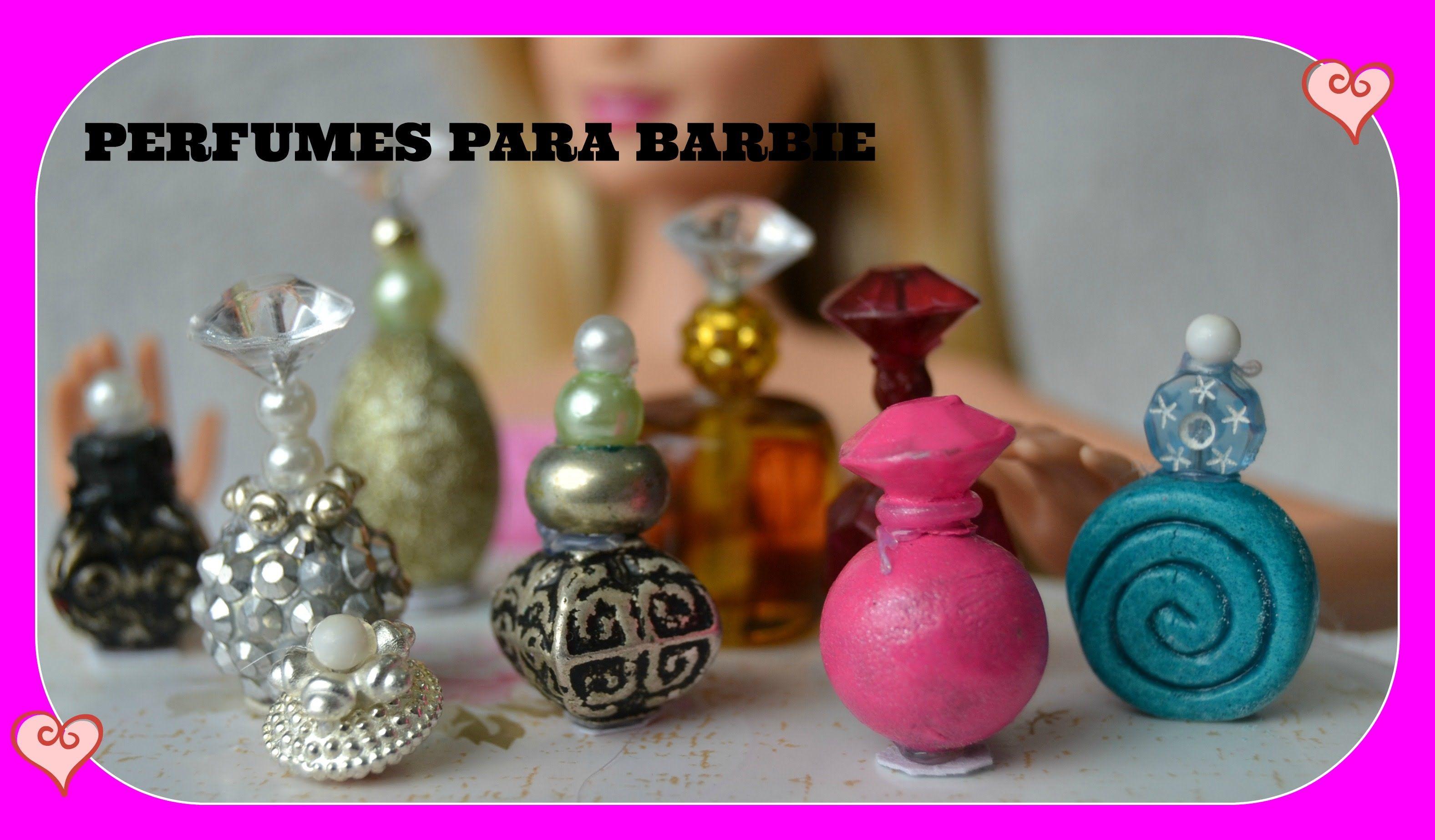 Como fazer perfumes para boneca Barbie | Миниатюры | Pinterest ...