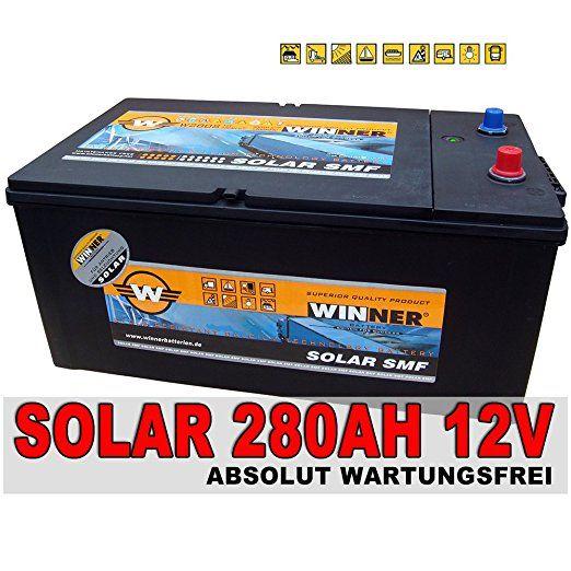 solarbatterie 280ah 100h 230ah 20h shd wohnmobil solar. Black Bedroom Furniture Sets. Home Design Ideas
