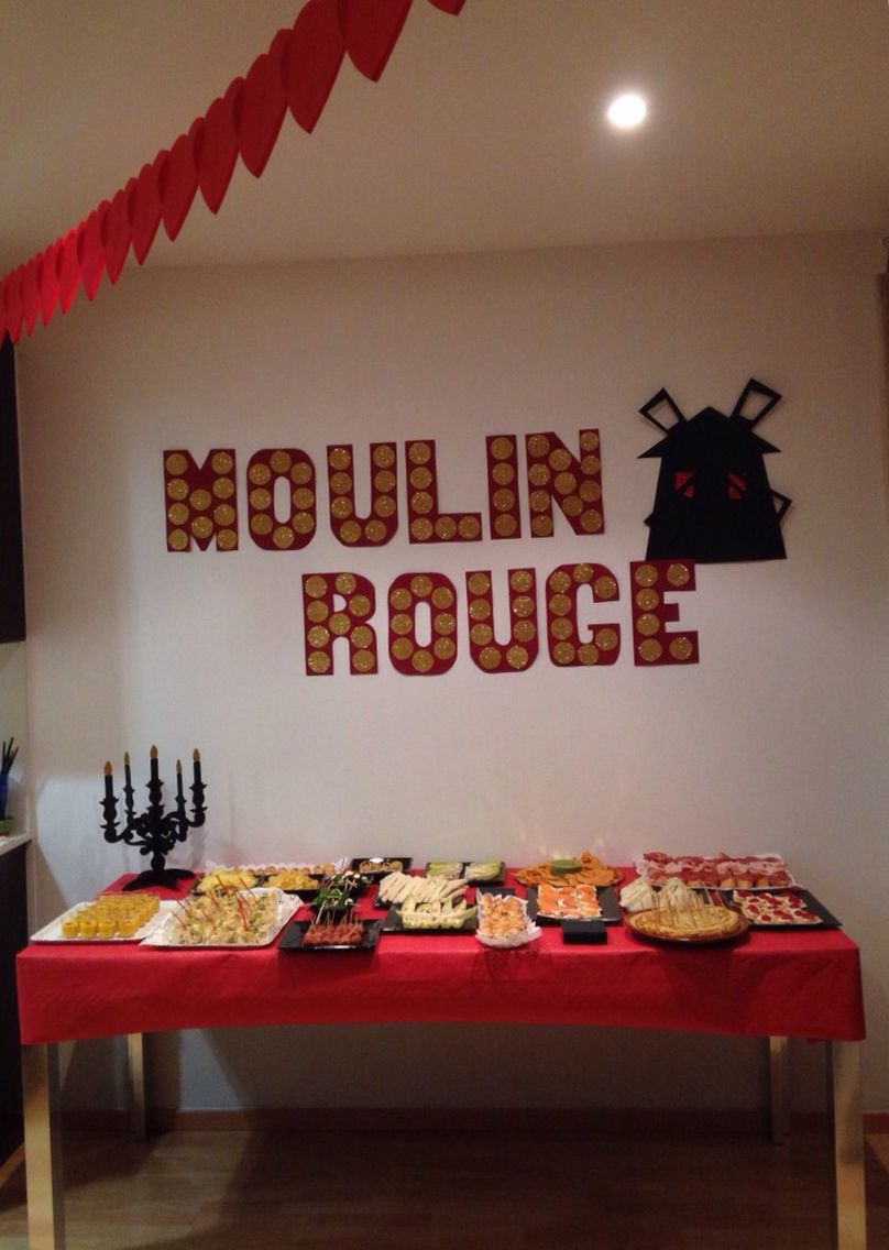 Moulin rouge party moulin rouge party pinterest - Moulin Rouge Fiesta Tem Tica