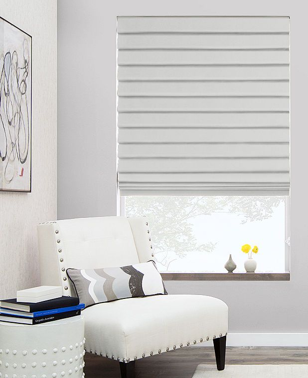 Choose From Over 400 Different Pleated Roman Shade Materials