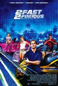 2 Fast 2 Furious Furious Movie Paul Walker Movies Fast And Furious