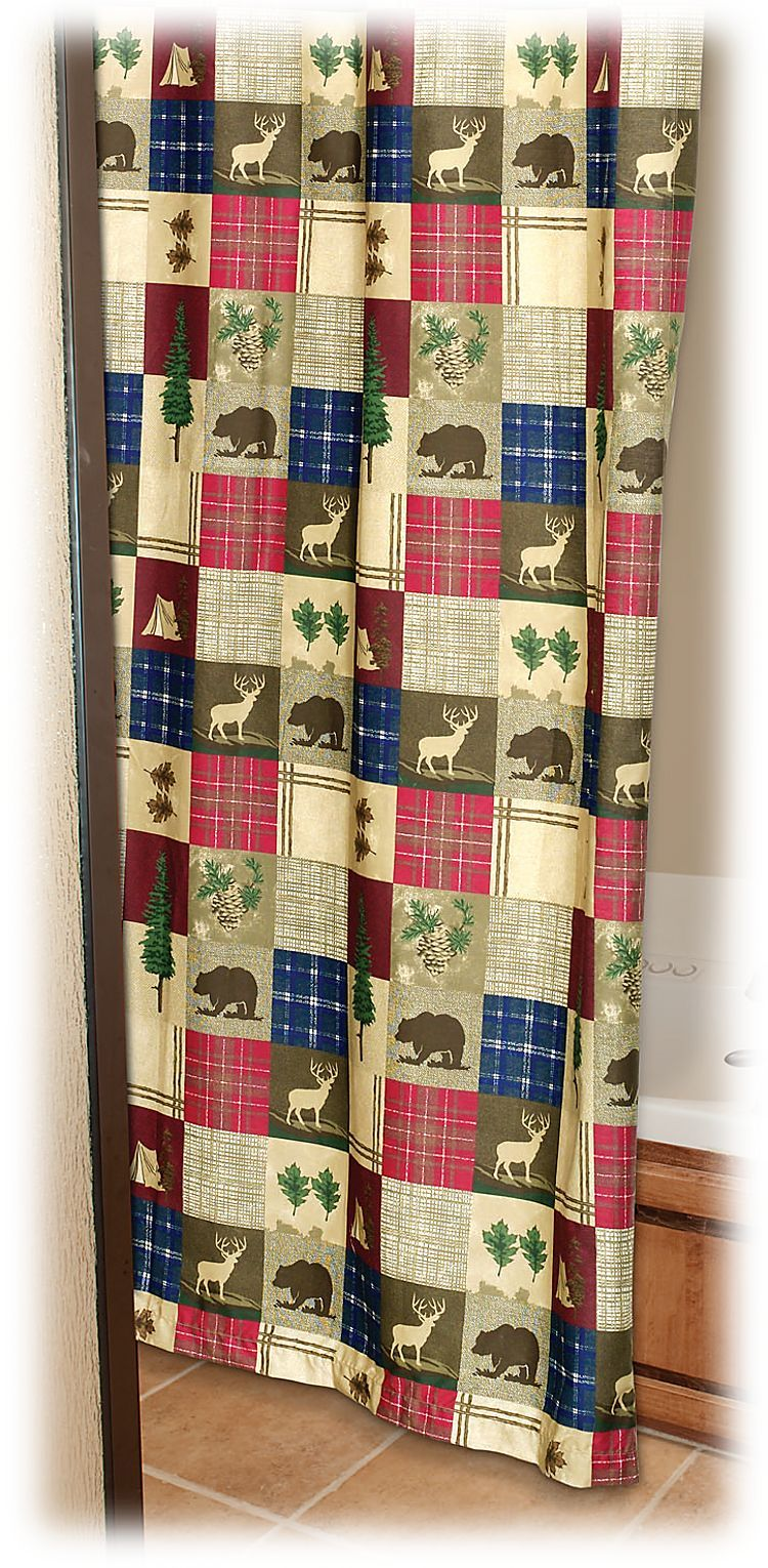Bass Pro Shops Happy Camper Shower Curtain Bass Pro Shops Curtains Shower Curtain Comfortable Camping