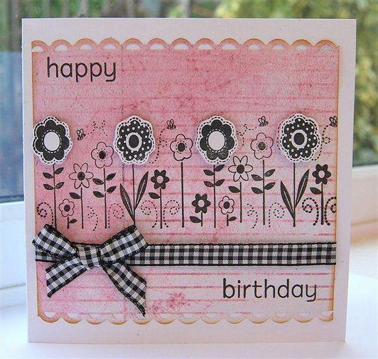 idée scrapbooking carte anniversaire