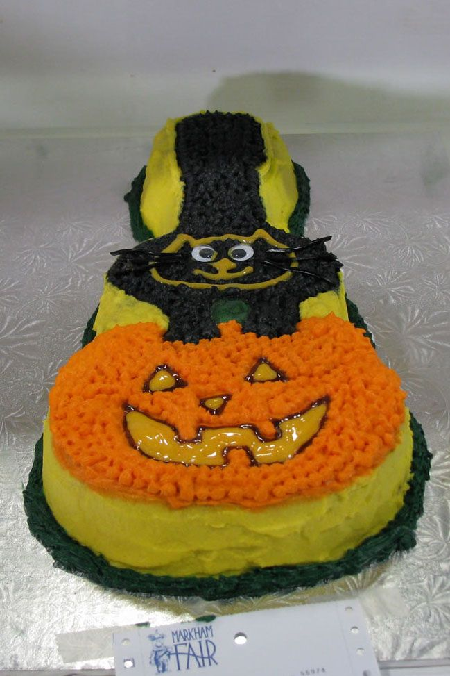 Past entry for our Halloween Cake Decoration category at the