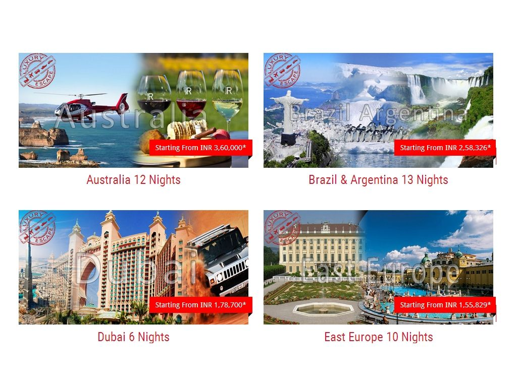 Unusual Escape offer the best premium international tour