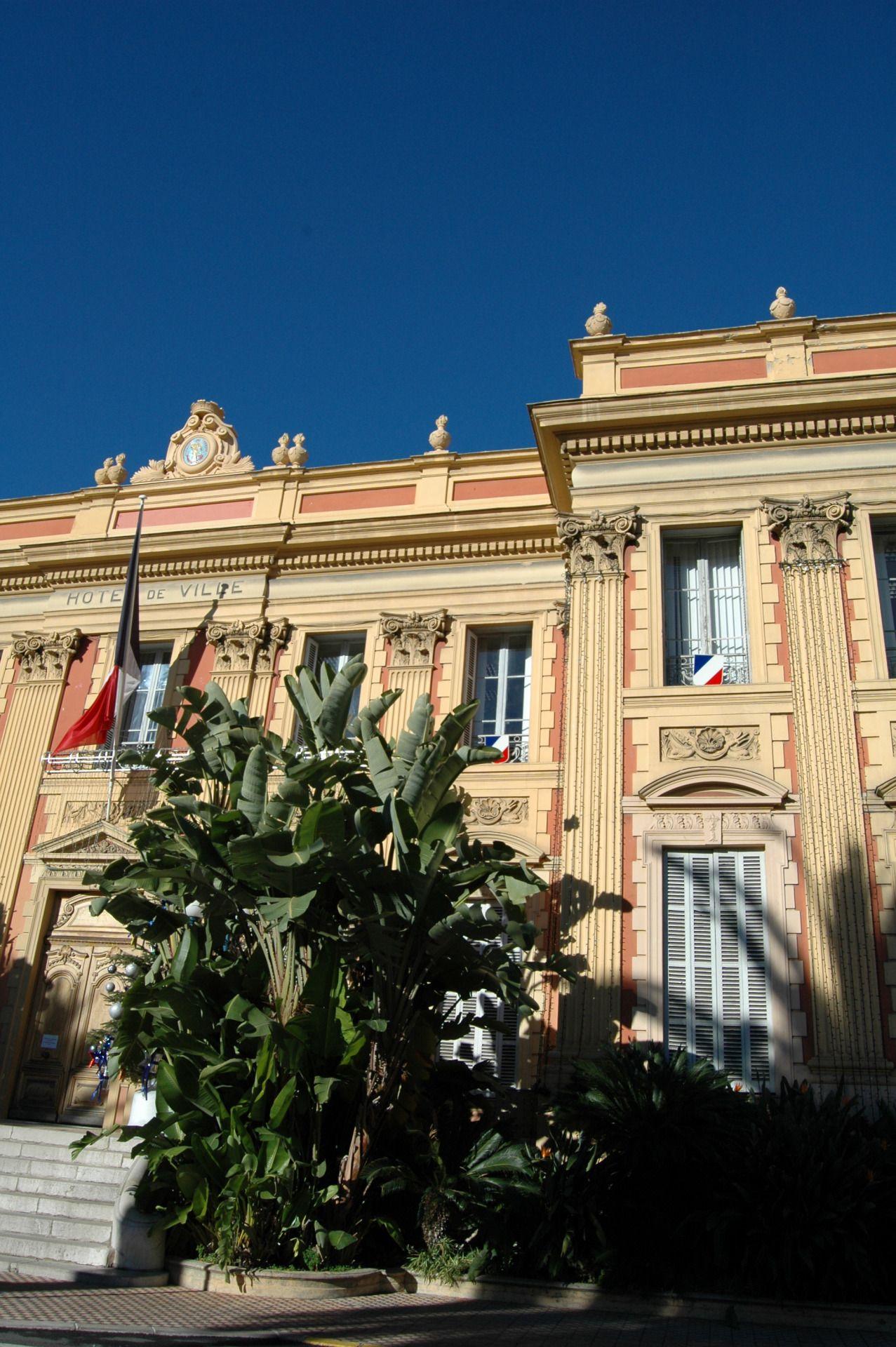 Mentone  Hotel de Ville