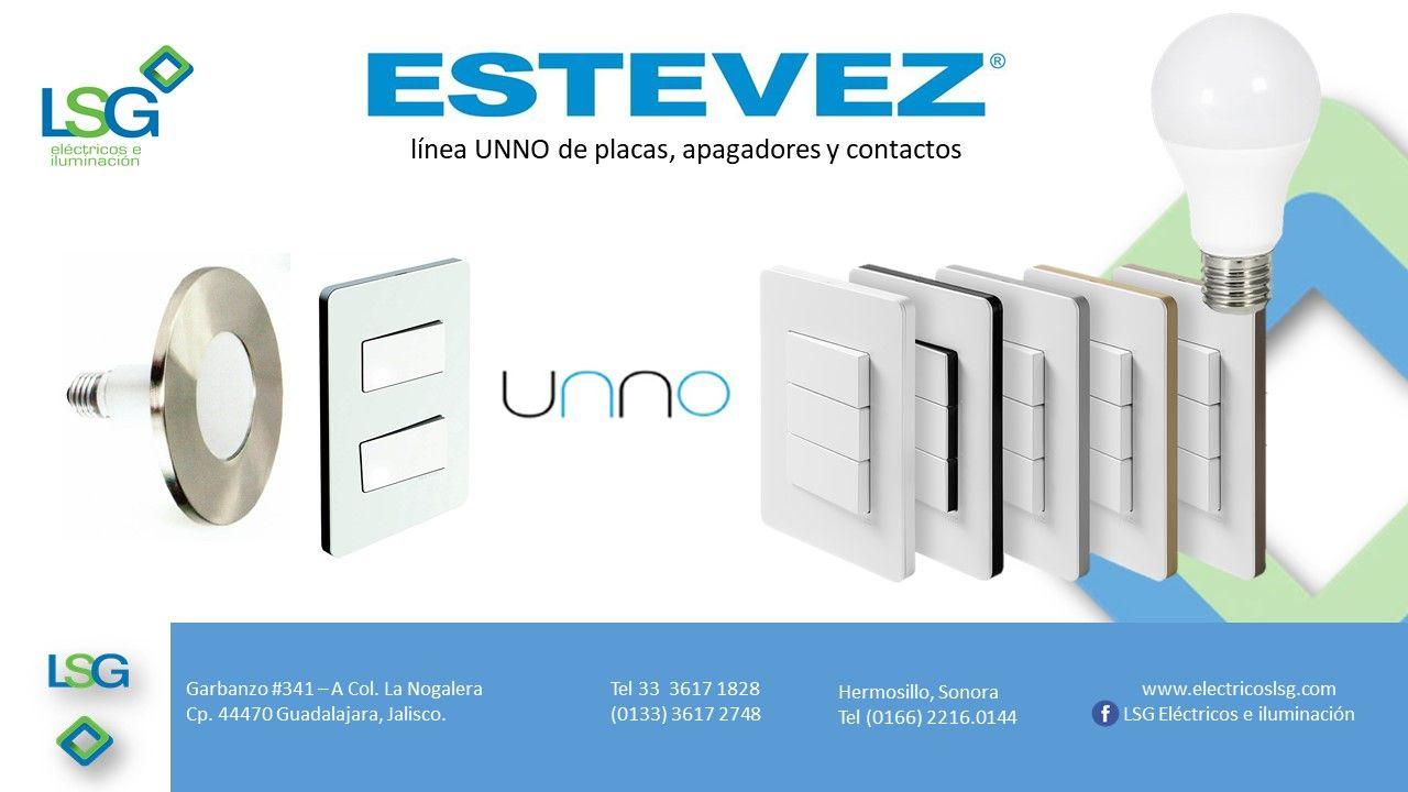 Estevez Es Una Empresa Dedicada A Producir Apagadores Placas Y Contactos Asi Como Timbres Directos Inalambricos Y Apagadores Material Electrico Iluminacion