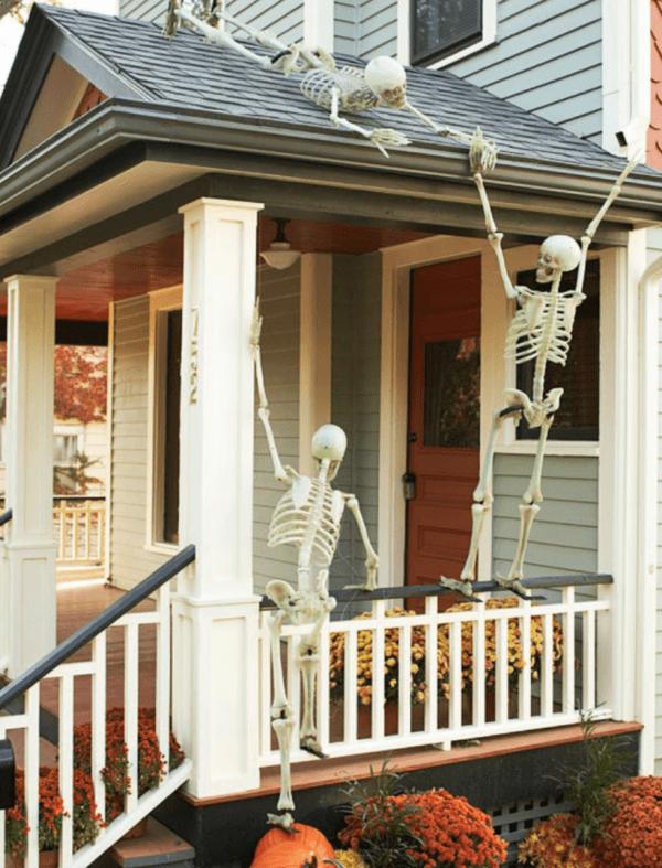 25 DIY Outdoor Halloween Decorations