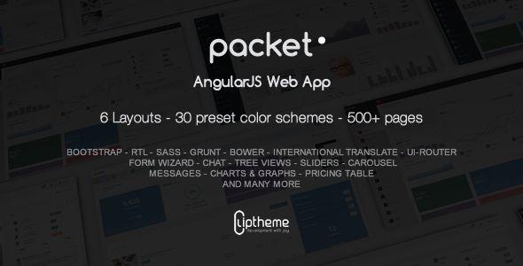 Download Free Packet - AngularJS Web App # admin #angular #AngularJS ...