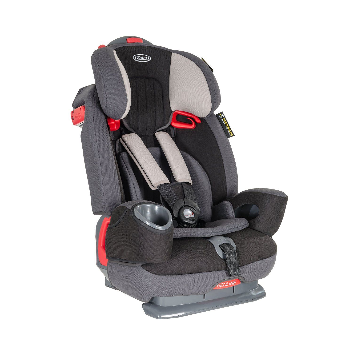 9d855a681cfe Graco Nautilus Elite Group 1/2/3 Car Seat - Aluminium: Amazon.co.uk: Baby