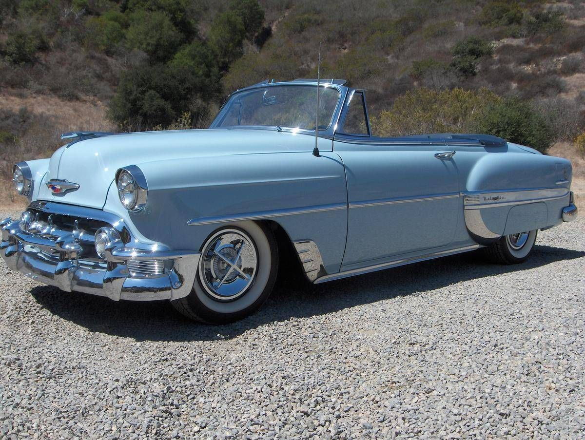 1951 Chevy Convertible For Chevrolet Bel Air Resto Mod Hemmings Motor