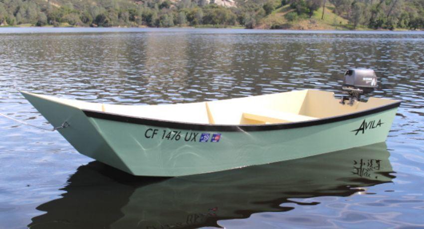Avila Garvey Dory Wooden Boat Plans | bateau | Pinterest | Boat plans and Boating