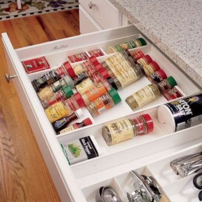 In Drawer Spice Rack Organizer With Images Spice Rack Organiser