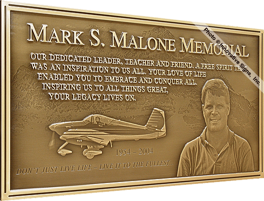 click for specs on this engraved bronze memorial plaque fred pinterest. Black Bedroom Furniture Sets. Home Design Ideas