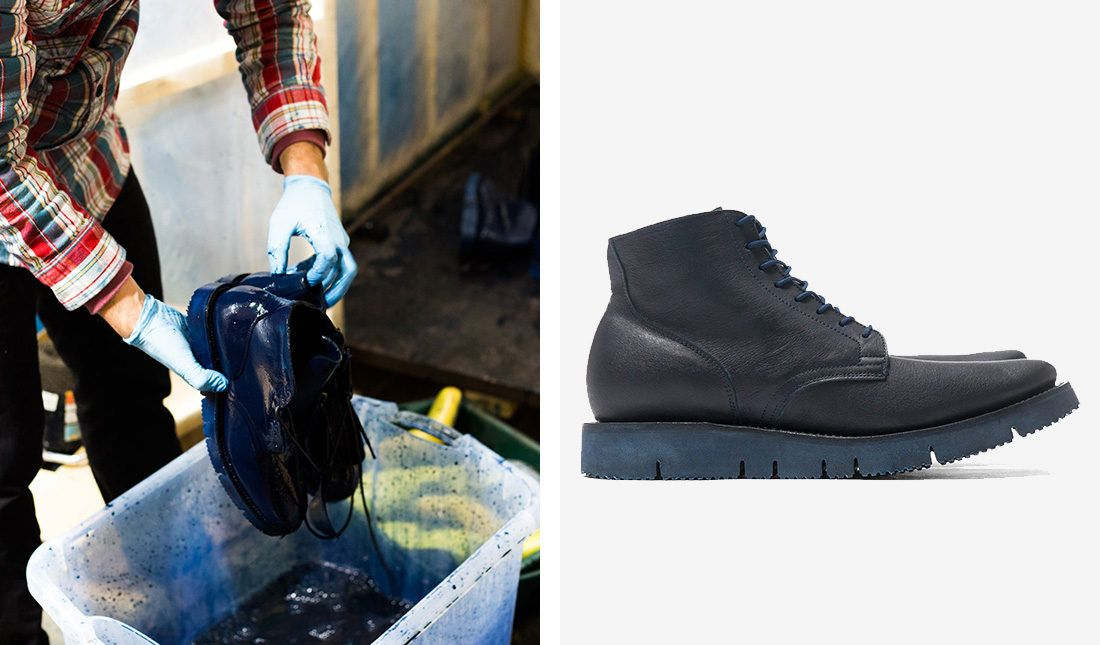 HAVEN x Viberg Overdyed Service Boots | JUNCTURE