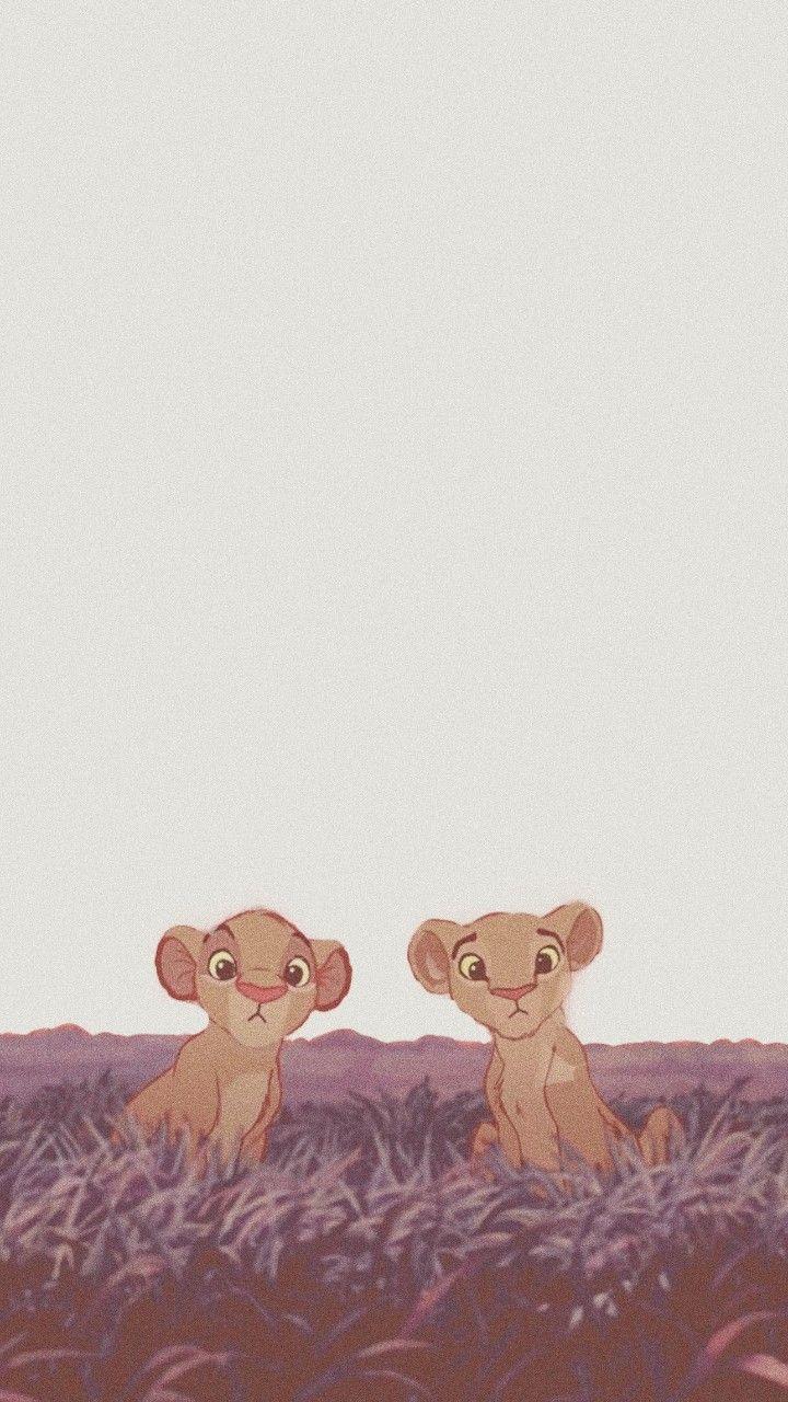 Simba Y Nala Wallper Tumblr Cute Disney Wallpaper Cartoon Wallpaper Iphone Cartoon Wallpaper