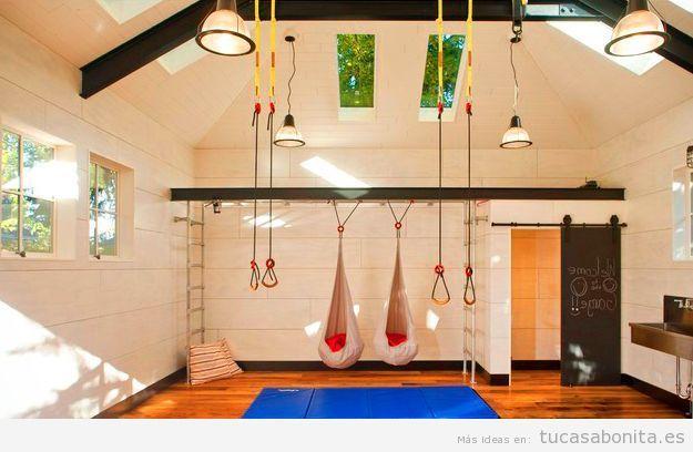 Pin de vero paz en gimnasios pinterest estudio de yoga en casa estudios de yoga y yoga en casa - Decoracion gimnasio ...