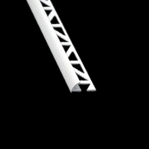 Quart De Rond Mur Et Sol Blanc Brillant Aluminium L 250 Cm X Ep 10 Mm Leroy Merlin En 2020 Sol Blanc Sol Mur