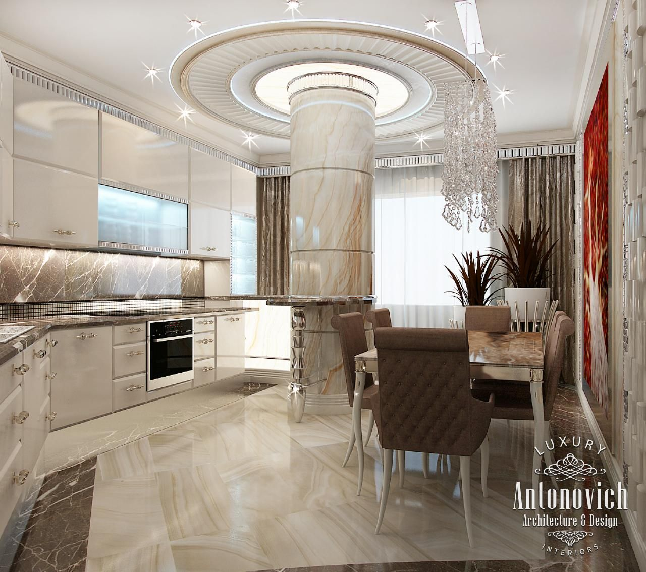 Kitchen Design in Dubai, Modern Kitchen Interior, Photo 1 | Bedroom ...