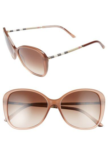 b8f9be339c59 BURBERRY 57mm Butterfly Sunglasses.  burberry   Burberry Sunglasses