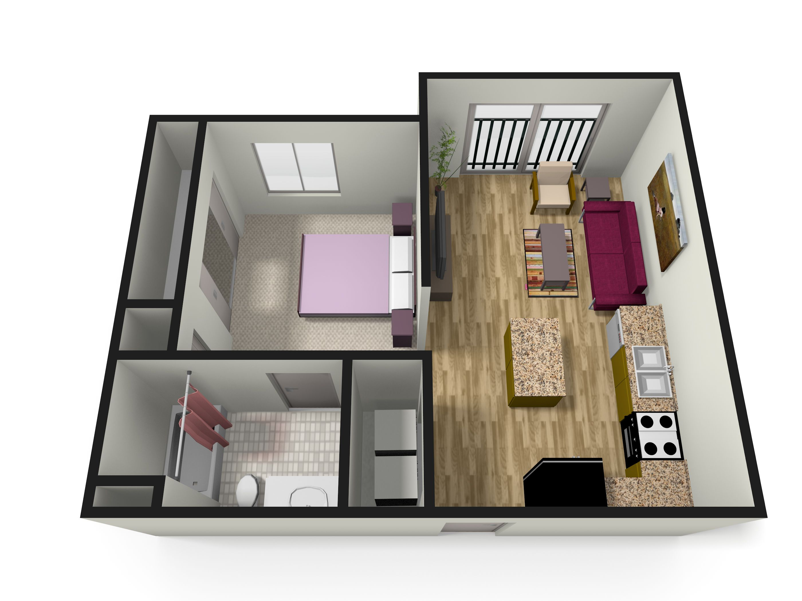 Two Bedroom House Apartment Floor Plans Basement One Amp Arlington Apartments The Commons
