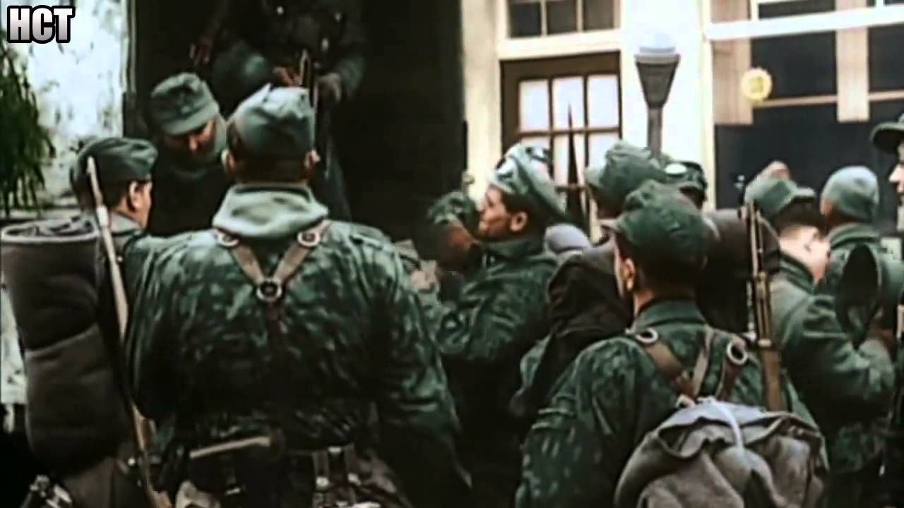 wehrmacht in combat rare ww2 footage rc7 2 pinterest troops