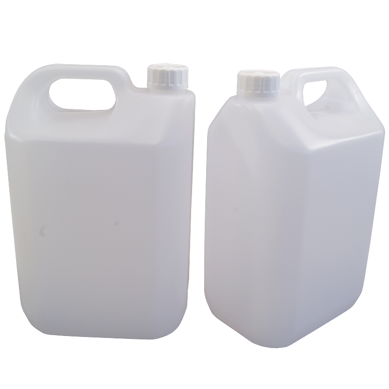 5 Litre 1 Gallon Jerrican Style Plastic Bottle With Handle Pack Of 2 Bottle Plastic Bottles Gallon
