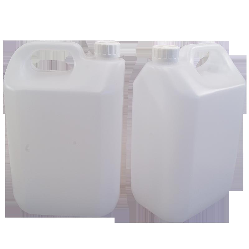 5 Litre 1 Gallon Jerrican Style Plastic Bottle With Handle Pack Of 2 Bottle Plastic Bottles Gallon
