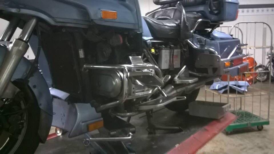 In Oss voor reparatie aan de startmotor.