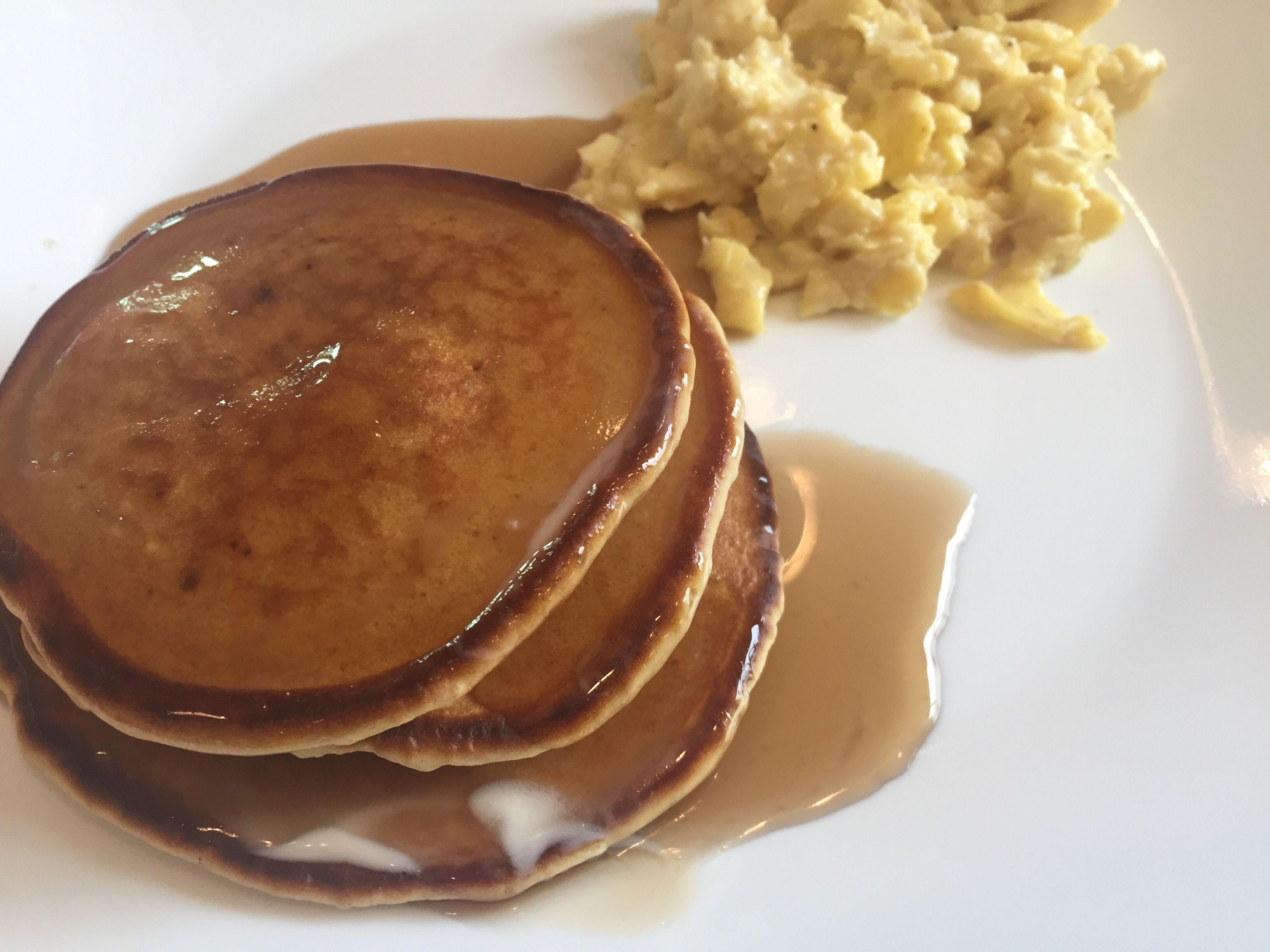 Pancakes with no baking powder recipe