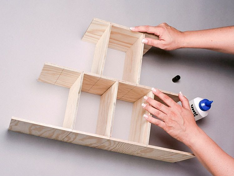 diy anleitung tannenbaum adventskalender aus holz basteln via adventskalender aus. Black Bedroom Furniture Sets. Home Design Ideas