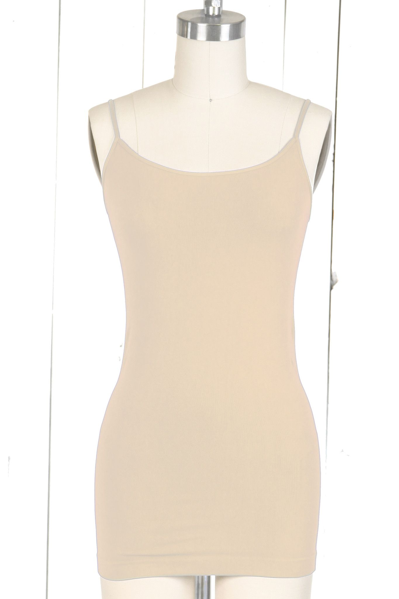 Seamless Long Camisole - ONE SIZE
