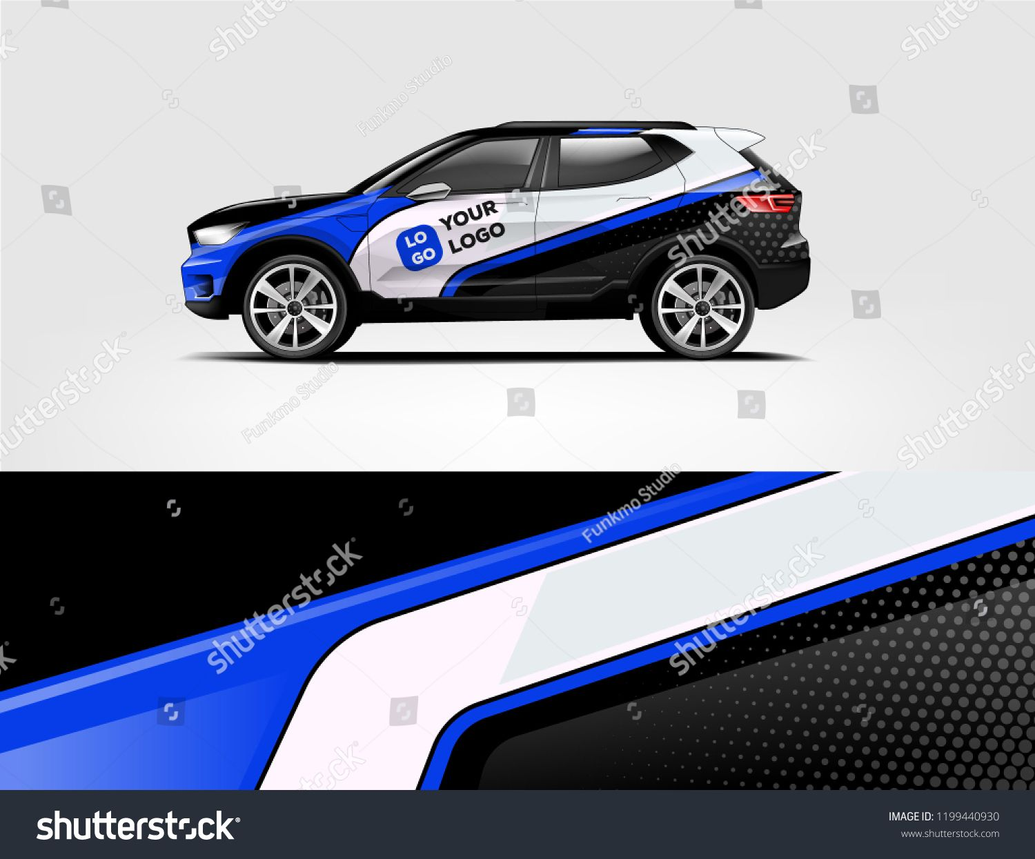 Company Branding Car Decal Wrap Design Vector Graphic Abstract Stripe Racing Background Kit Designs Company Car Company Branding Car Car Decals [ 1245 x 1500 Pixel ]
