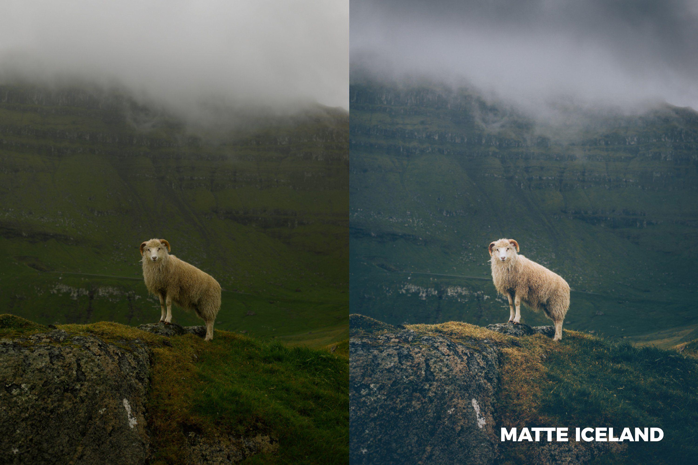 Matte effect lightroom