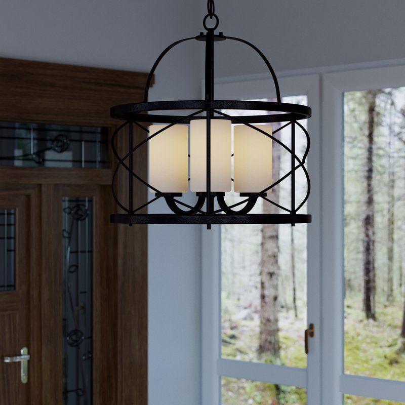 Lagrosa 3-Light Foyer Pendant | Entry Way | Pinterest