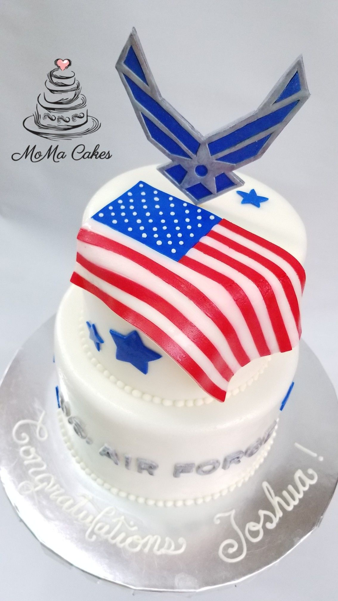U.S. Air Force graduation cake by MoMa Cakes. | MoMa Cakes ...