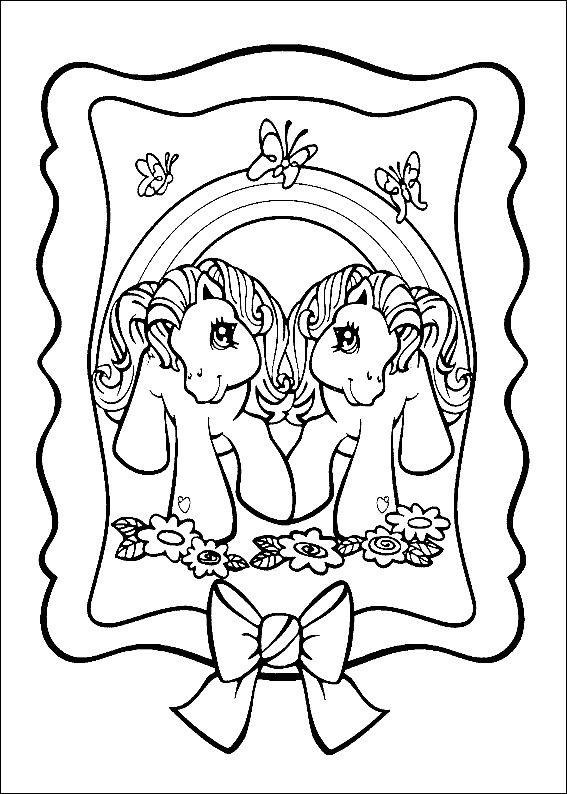 Dibujos para Colorear Mi pequeño Pony 4 | Dibujos para colorear para ...