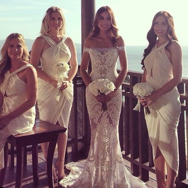 Wow! Wow! Wow! @jatoncouture another masterpiece #bridesjournal