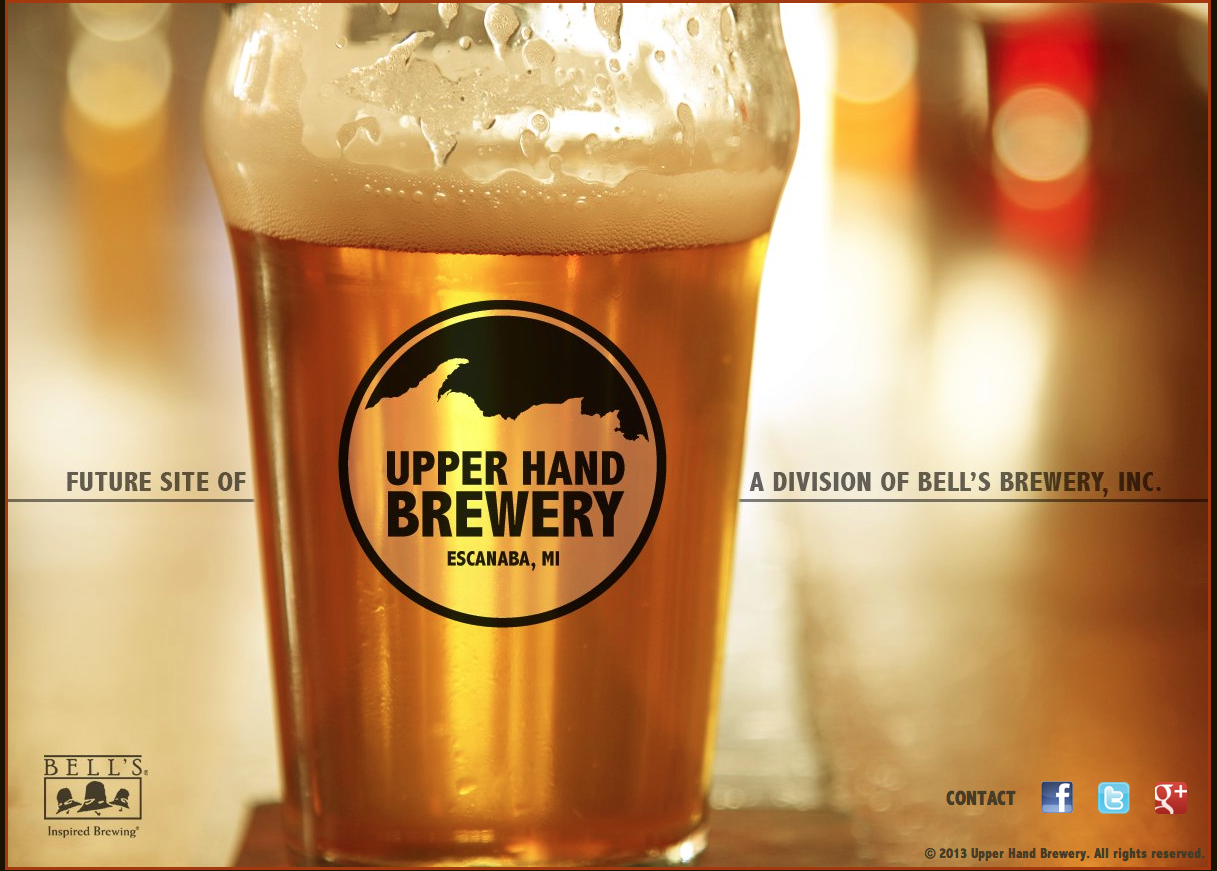 Upper Hand Brewery, the new division of Bell's Brewery is officially open. Upper Hand broke ground in October, 2013 on an 11,500 square foot facility on Michigan's Upper Penninsula. Three beers are ready with the launch, Upper Penninsula Ale, Escanaba Black Continue Reading →