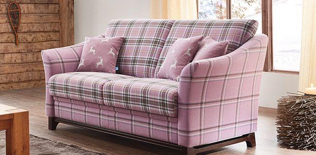 Schrono Kitzalm Schwarzensee Sofa Couch Zweisitzer Polster Rosa Landhaus Mobel Mit Www Moebelmit De Sofa Polster Gemutlich