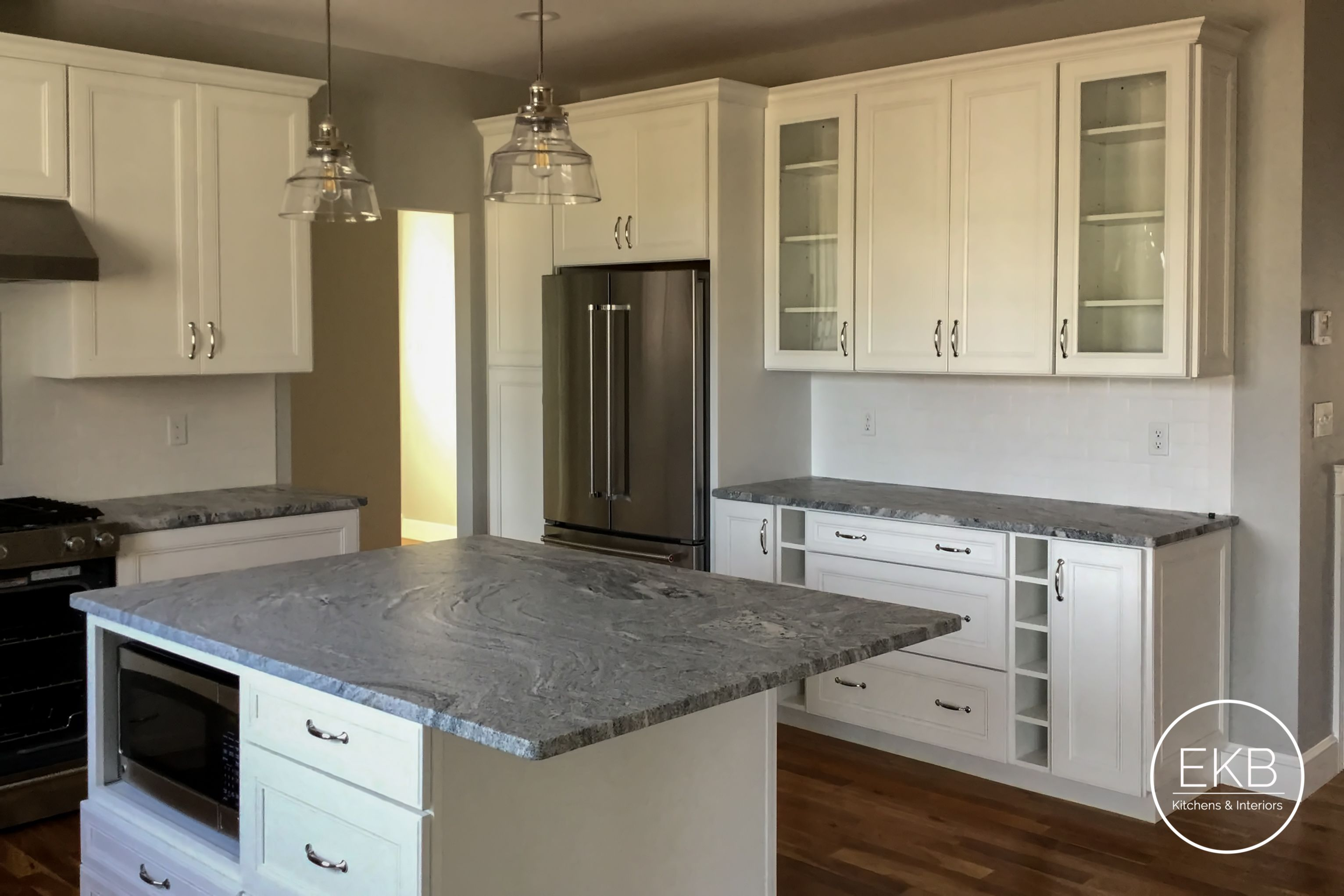Waypoint Living Spaces 750f In Painted Linen Installing Kitchen Cabinets Kitchen Remodel Kitchen Design