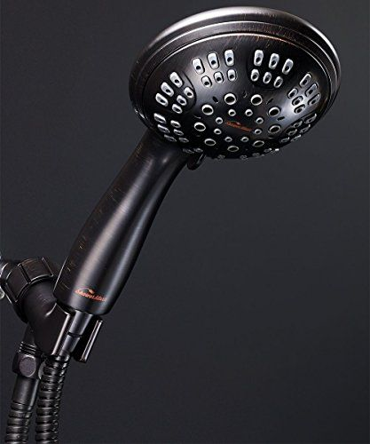 Showermaxx Shower Head Premium 6 Spray Settings Stainless Steel
